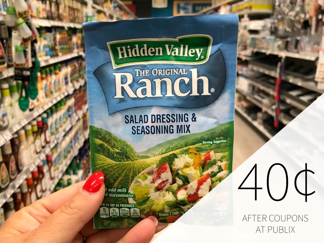 Hidden Valley Products As Low As 40¢ At Publix on I Heart Publix 1