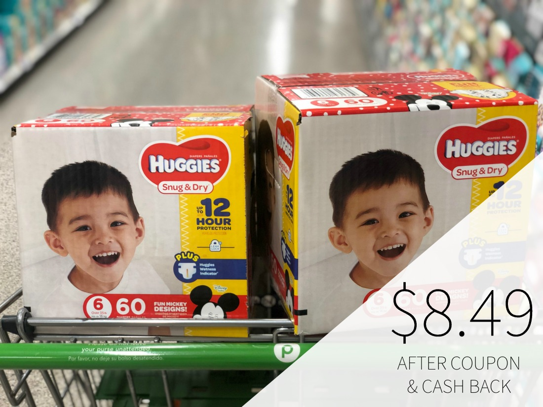 Huggies Diapers As Low As $8.49 Per Box At Publix on I Heart Publix