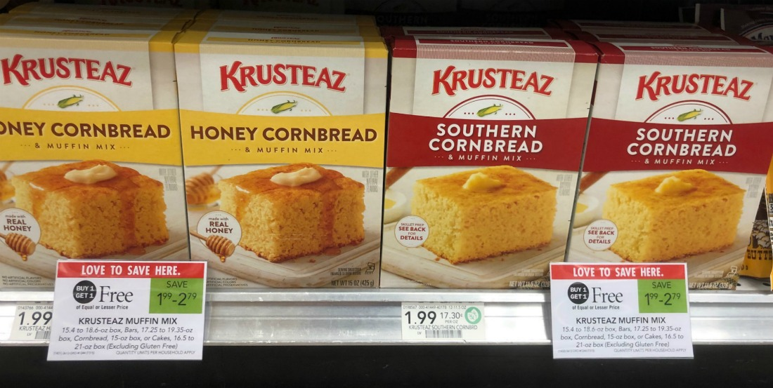FREE Krusteaz Cornbread Mix At Publix on I Heart Publix 1