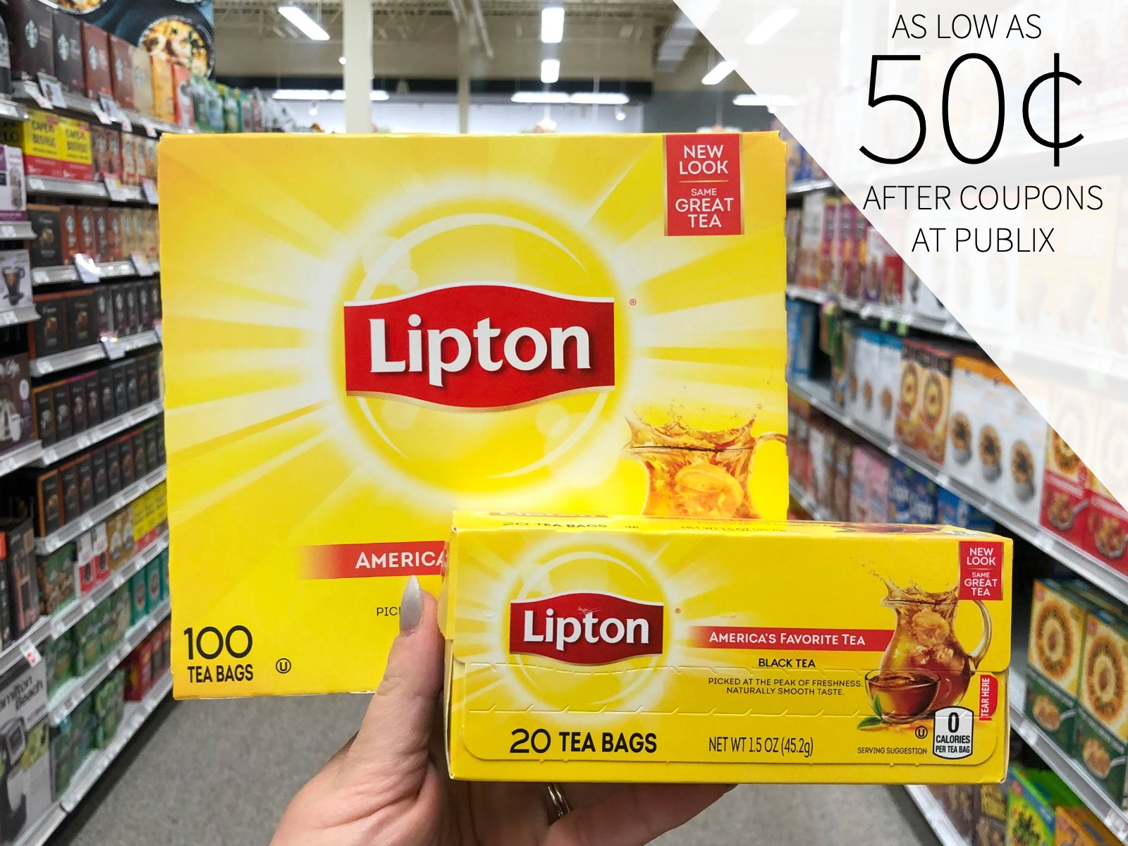 Amazing Deals On Lipton Tea At Publix - Stock Up For The Holidays! on I Heart Publix