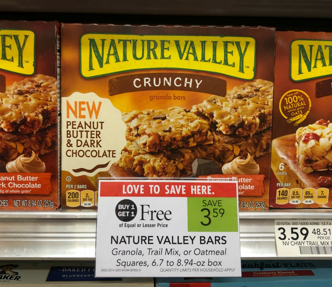 Nature Valley Bars As Low As $1.30 Per Box At Publix on I Heart Publix 1