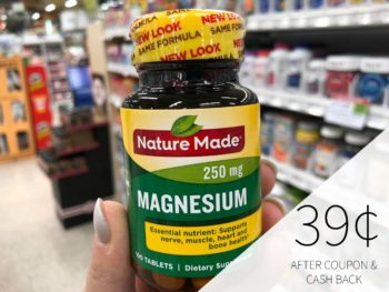 Nature Made Magnesium Just $1.89 At Publix on I Heart Publix