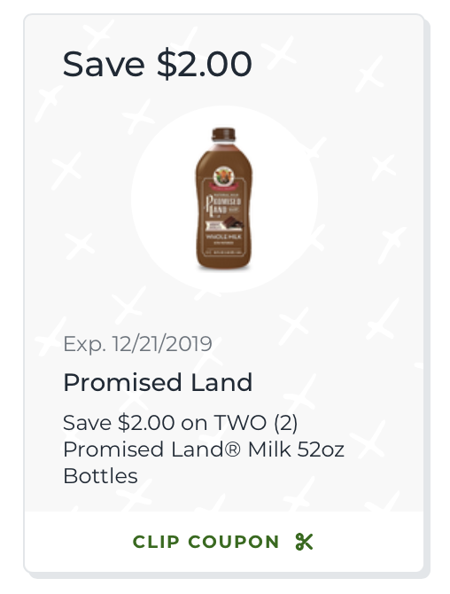 New Promised Land Milk Coupon - Save $2 At Publix! on I Heart Publix