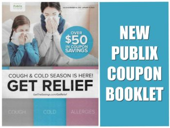 New Publix Booklet - Get Relief Valid 11/3 - 12/2 on I Heart Publix