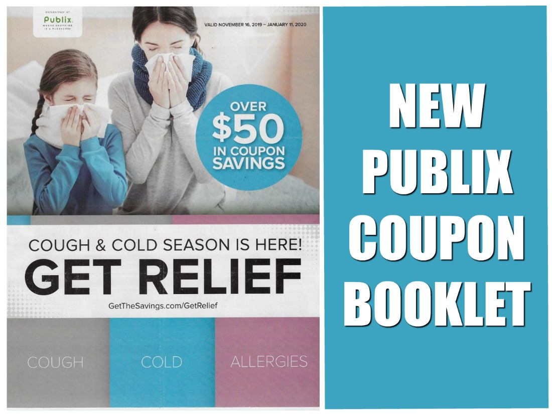 New Publix Booklet - Get Relief Valid 11/3 - 12/2 on I Heart Publix