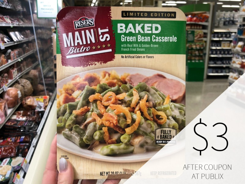Reser's Main Street Baked Sides Only $2.50 At Publix on I Heart Publix 1
