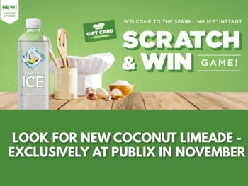 Look For New Sparkling Ice Coconut Limeade At Publix & Play The New Game For A on I Heart Publix