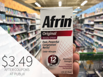 Afrin Only $3.49 At Publix on I Heart Publix