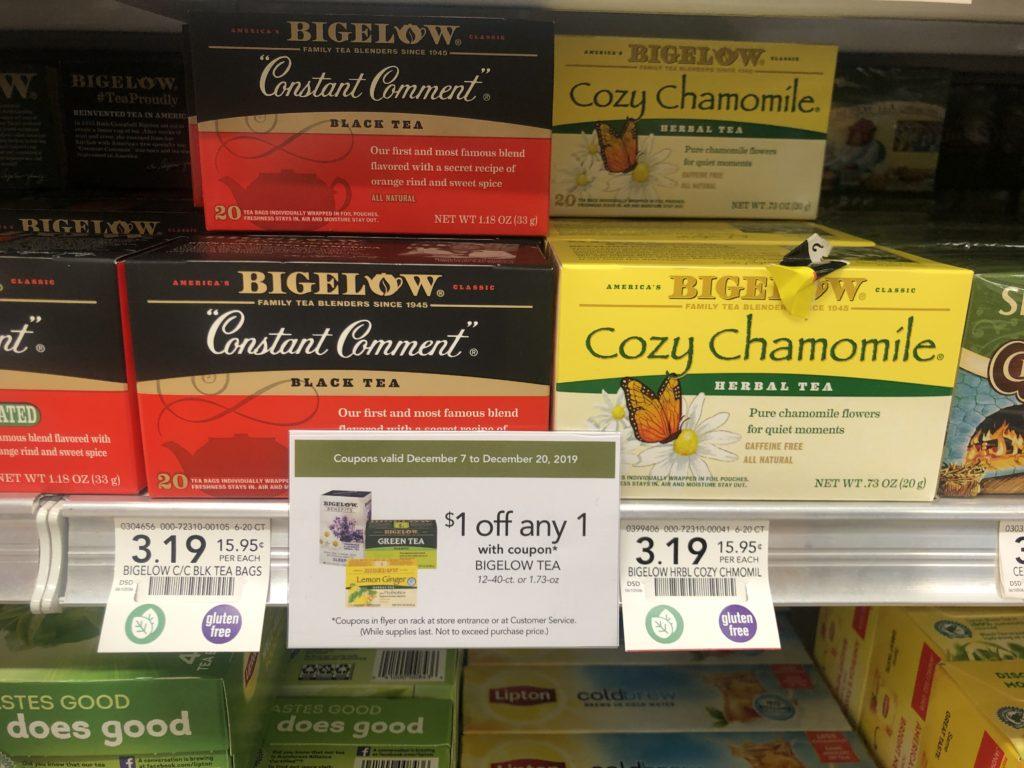 Bigelow Tea Just $2.19 At Publix on I Heart Publix