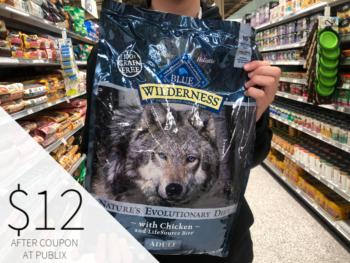 Blue Wilderness Adult Dog Food Just $12 At Publix on I Heart Publix
