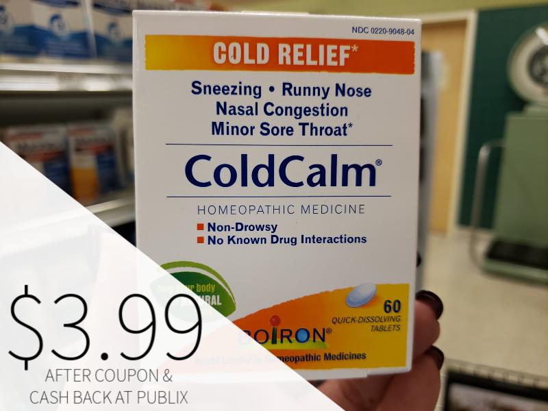 Boiron Cold Calm oNL $3.99 At Publix on I Heart Publix