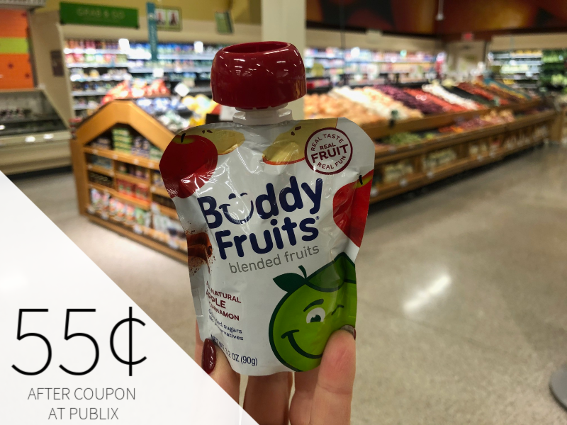 Buddy Fruits Pure Blended Fruit Just 55¢ At Publix on I Heart Publix 1