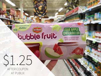 Del Monte Bubble Fruit on I Heart Publix