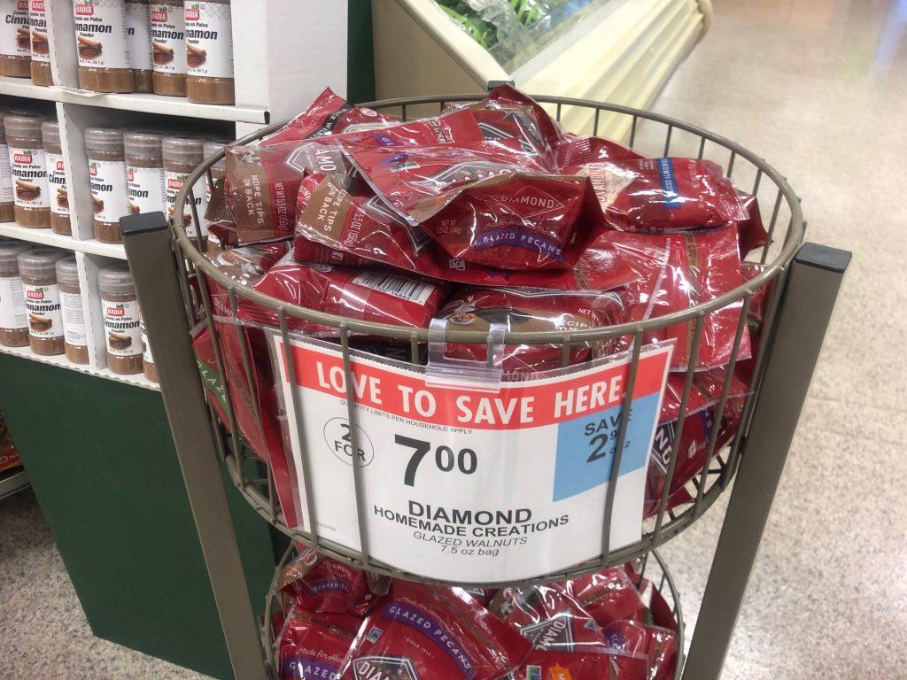 Diamond Glazed Nuts on I Heart Publix