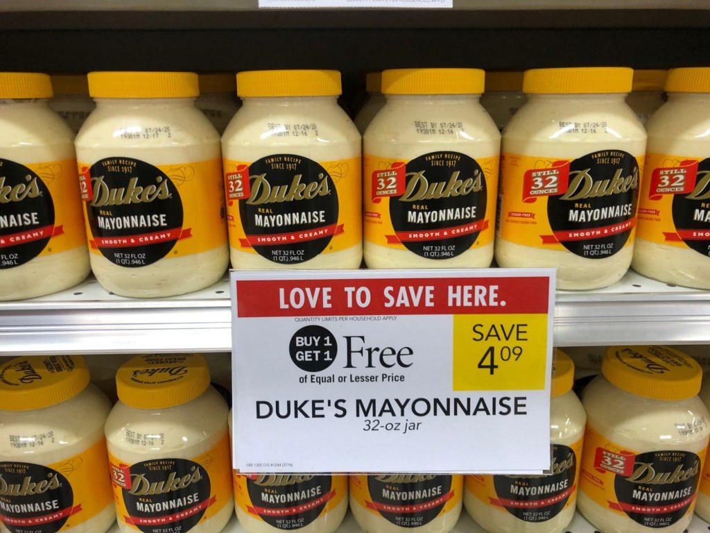 Duke's Mayonnaise Just $1.30 At Publix on I Heart Publix 2