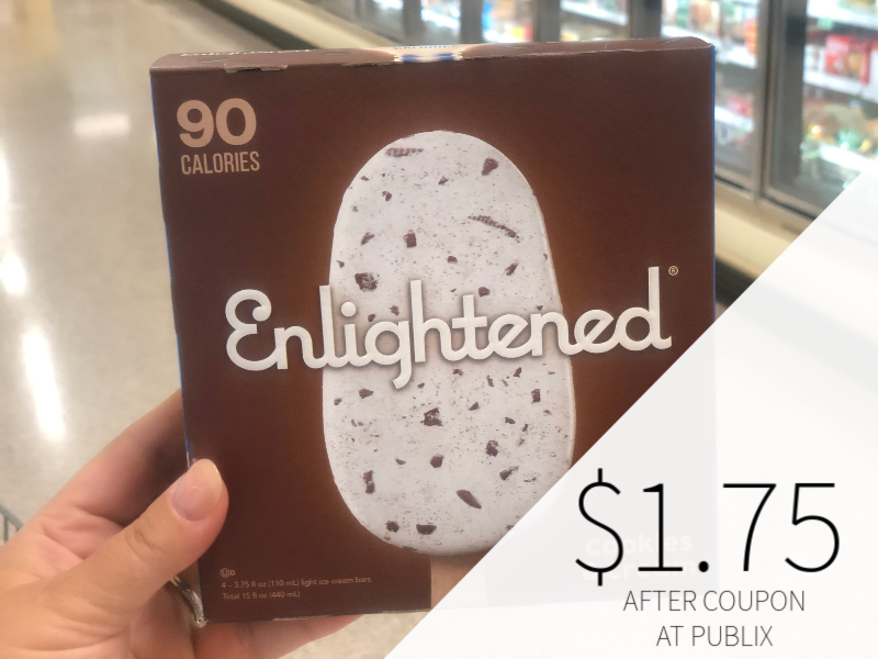 Enlightened Ice Cream Bars Just $1.75 At Publix on I Heart Publix
