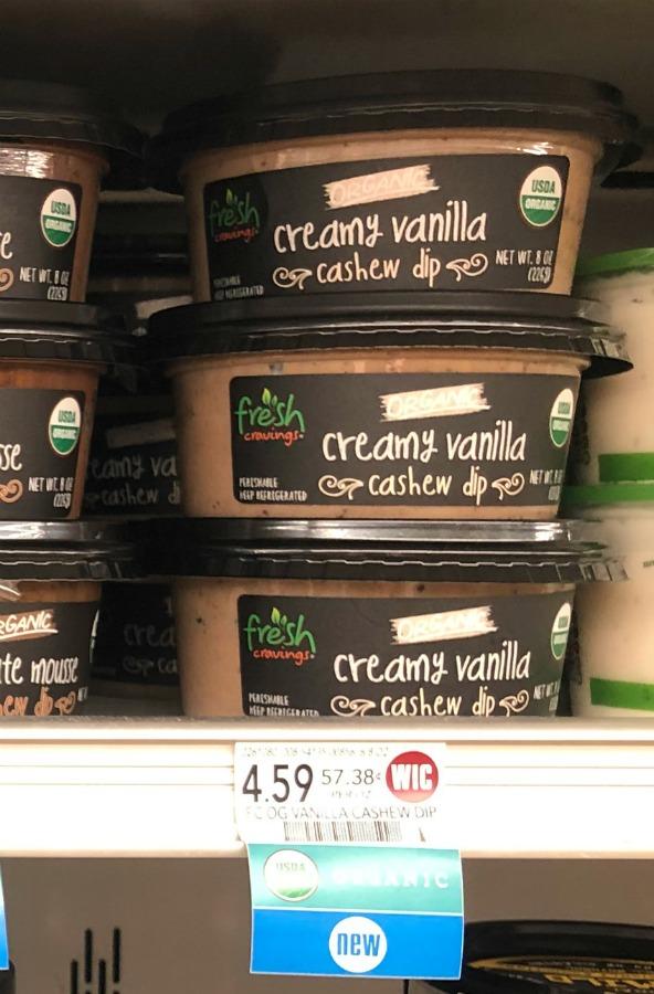 FREE Fresh Cravings Creamy Vanilla Cashew Dip At Publix on I Heart Publix