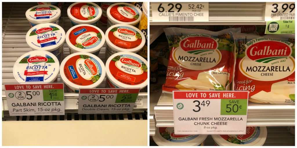 Great Deals On Galbani Products At Publix on I Heart Publix
