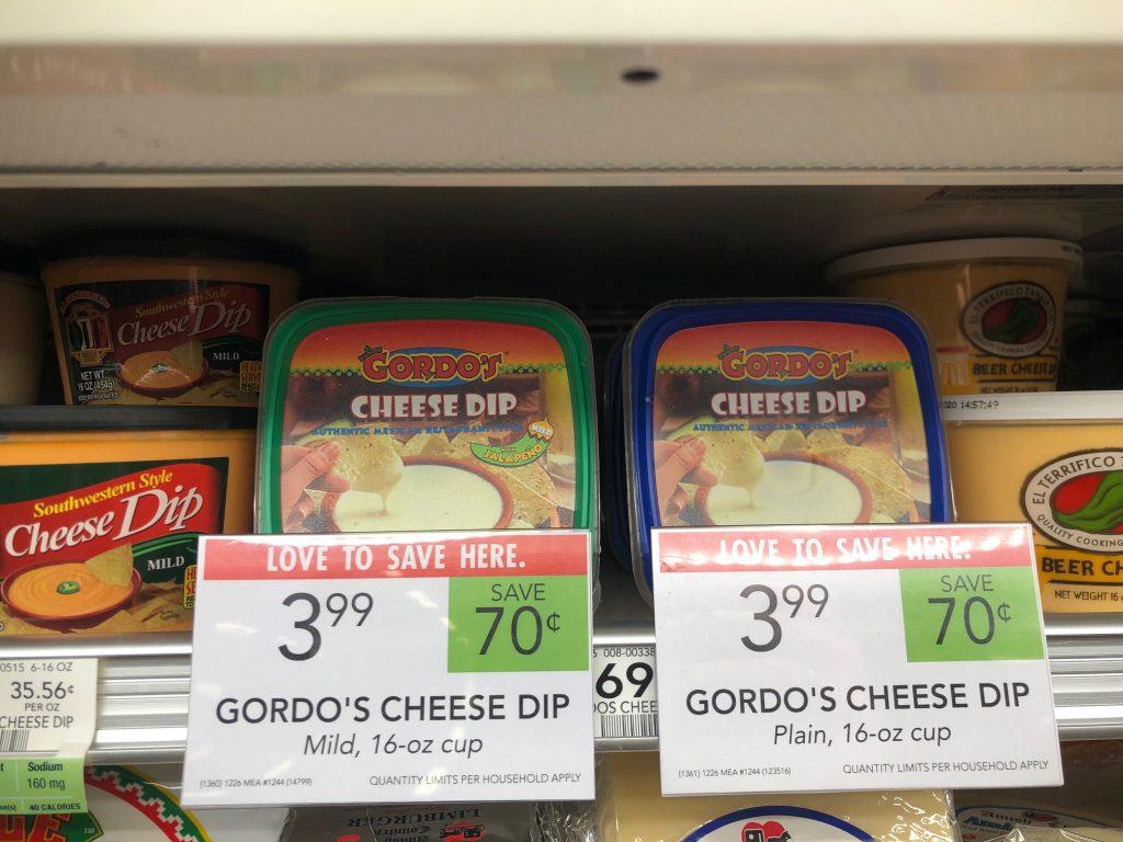 Gordo's Cheese Dip on I Heart Publix