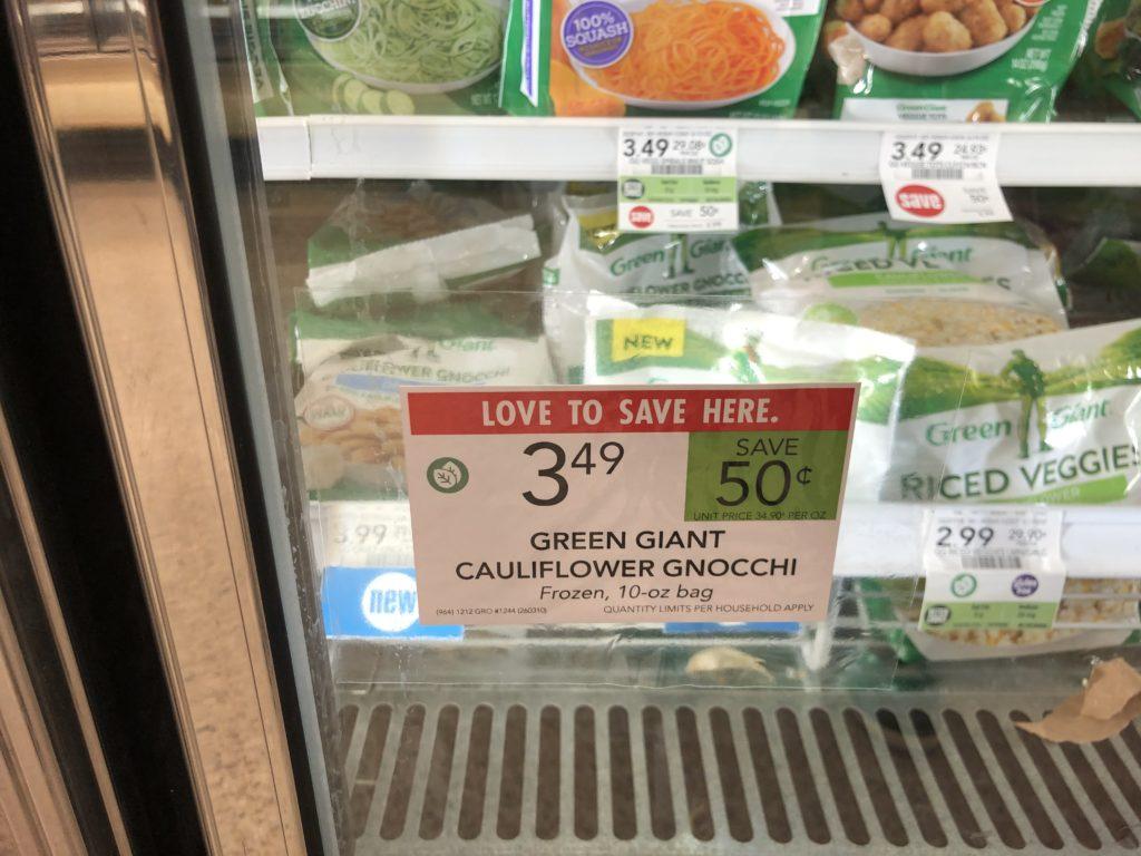 Green Giant Cauliflower Gnocchi Just $2.49 At Publix on I Heart Publix