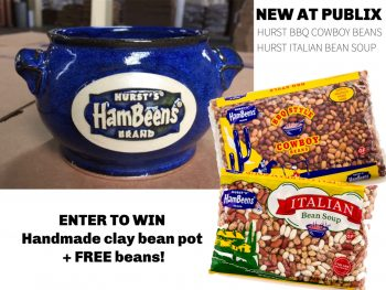 Look For New Hurst Italian Bean Soup And BBQ Cowboy Beans At Publix + Enter To Win Some Great Prizes! on I Heart Publix