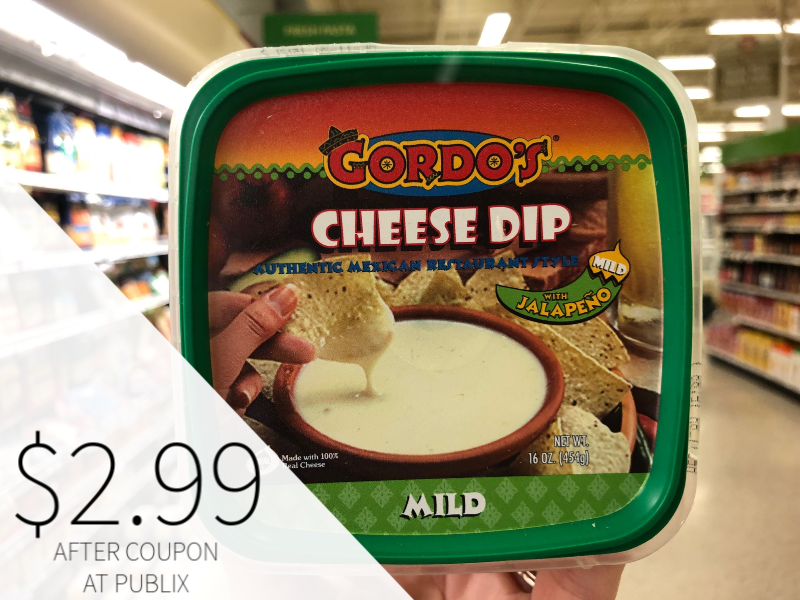 Gordo's Cheese Dip Just $2.99 At Publix on I Heart Publix