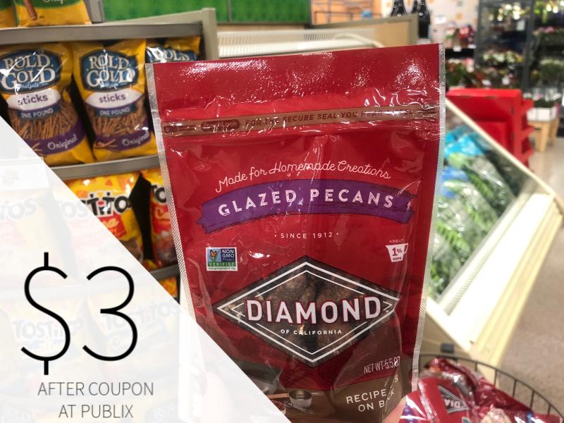 Diamond Glazed Nuts Only $3 At Publix on I Heart Publix