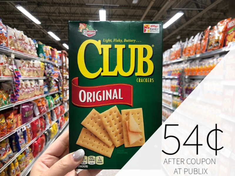 Keebler Club Crackers Only Just 54¢ At Publix on I Heart Publix