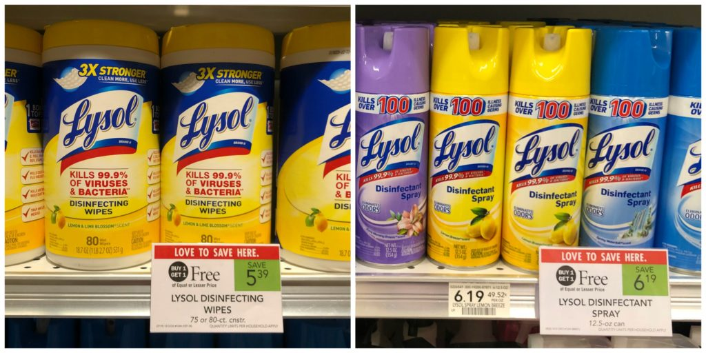 Great Deals On Lysol Products At Publix on I Heart Publix