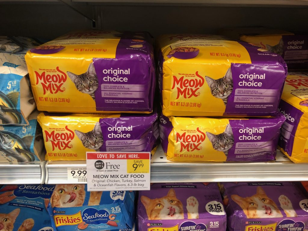 Meow Mix Dry Cat Food Only $4 At Publix on I Heart Publix