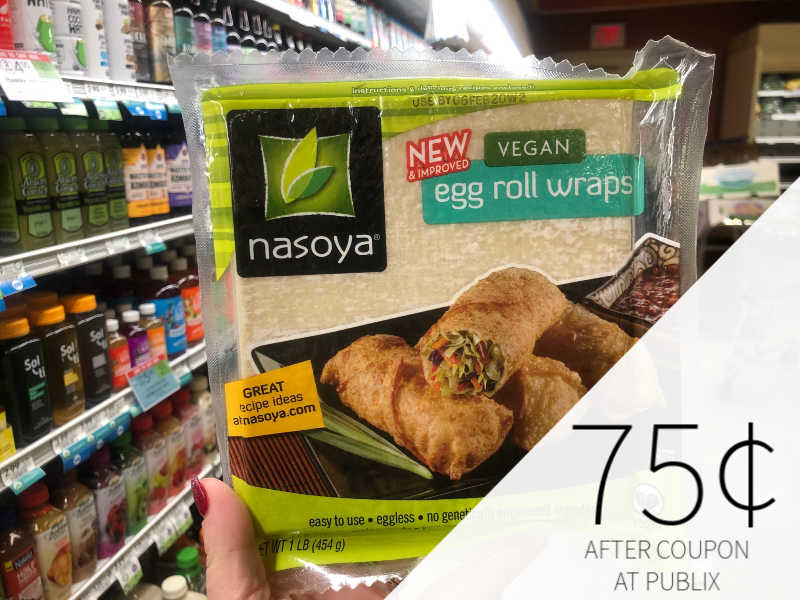 Nasoya Egg Roll Wrappers Just 75 At Publix