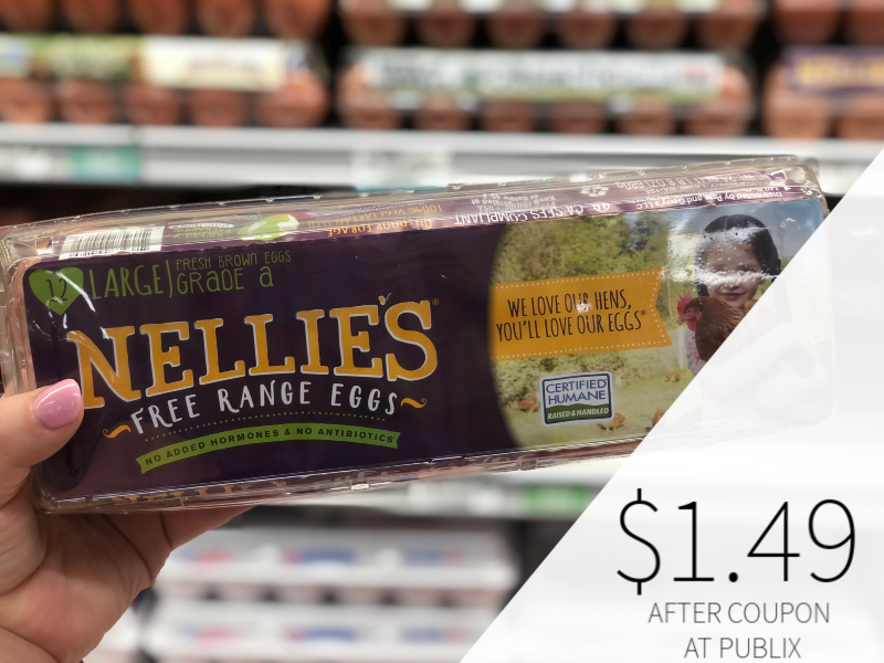 Nellie's Free Range Eggs Just $1.49 At Publix on I Heart Publix