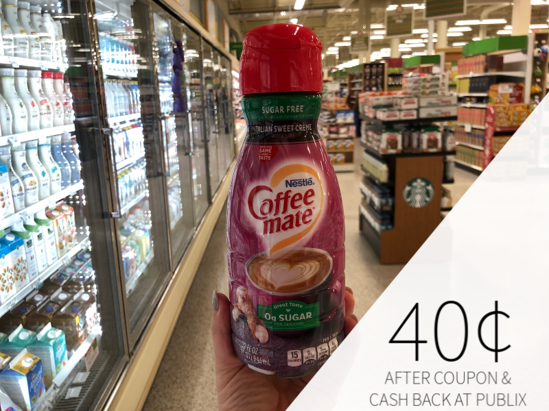 Nestle Coffee-Mate Coffee Creamer Just 40¢ At Publix on I Heart Publix