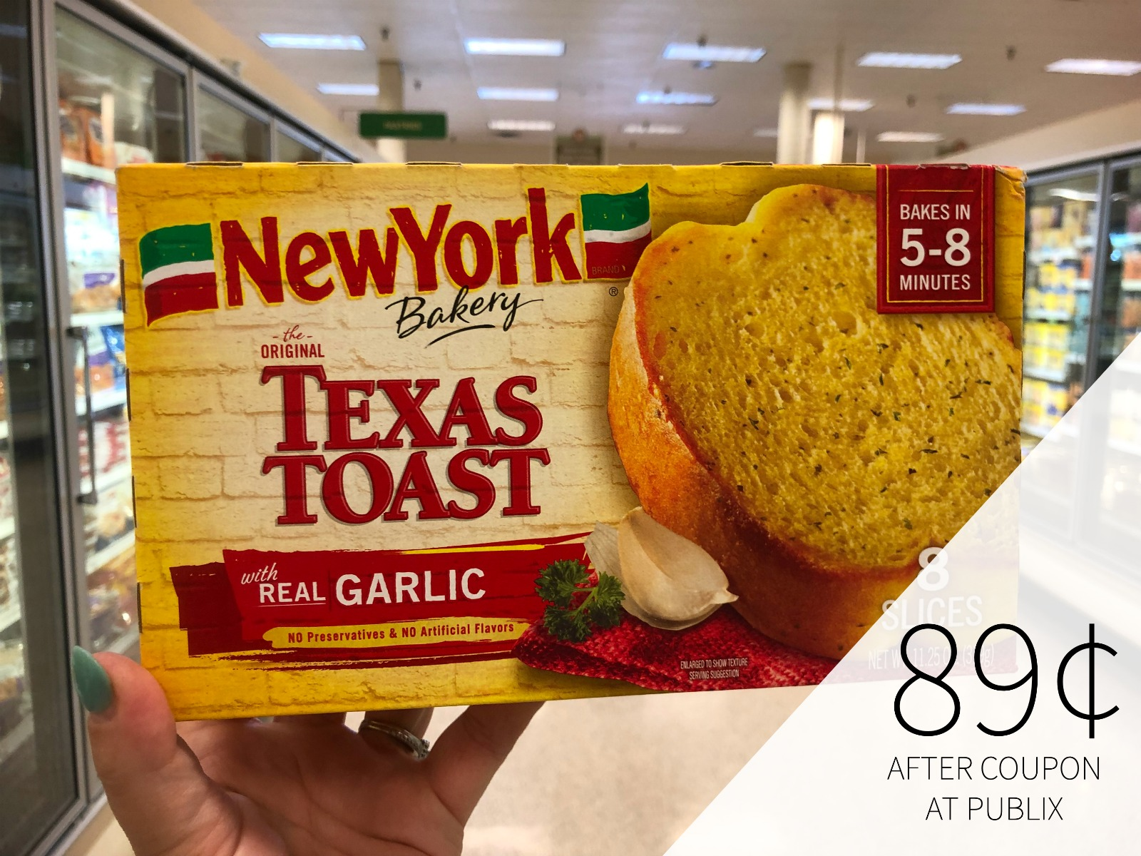 New York Frozen Breads As Low As 89¢ At Publix on I Heart Publix