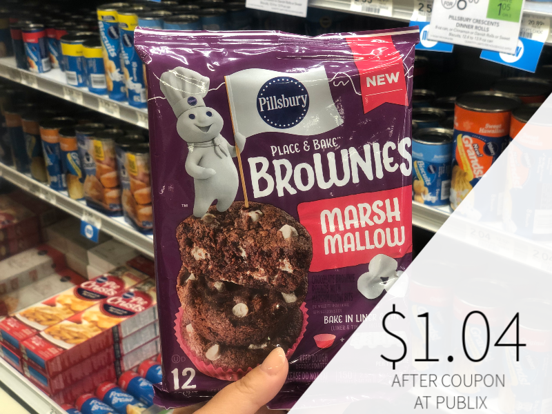 Pillsbury Place & Bake Brownies Only $1.04 At Publix on I Heart Publix