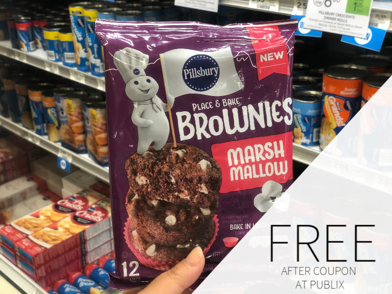 FREE Pillsbury Place & Bake Brownies At Publix on I Heart Publix