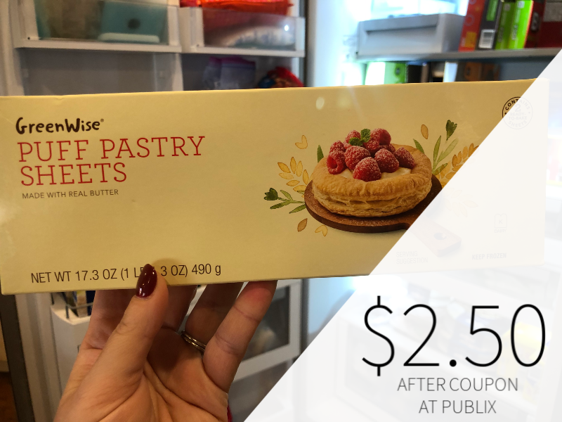 Publix GreenWise Puff Pastry Sheets Just $2.50 At Publix on I Heart Publix