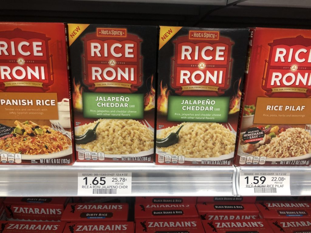 Rice-A-Roni Jalapeno Cheddar Only on I Heart Publix