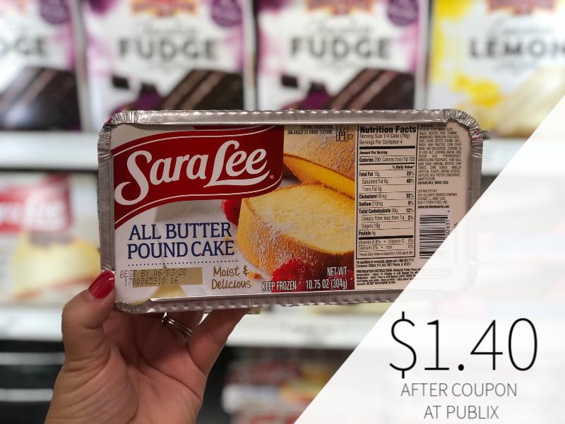 Sara Lee Pound Cake Only $1.40 At Publix