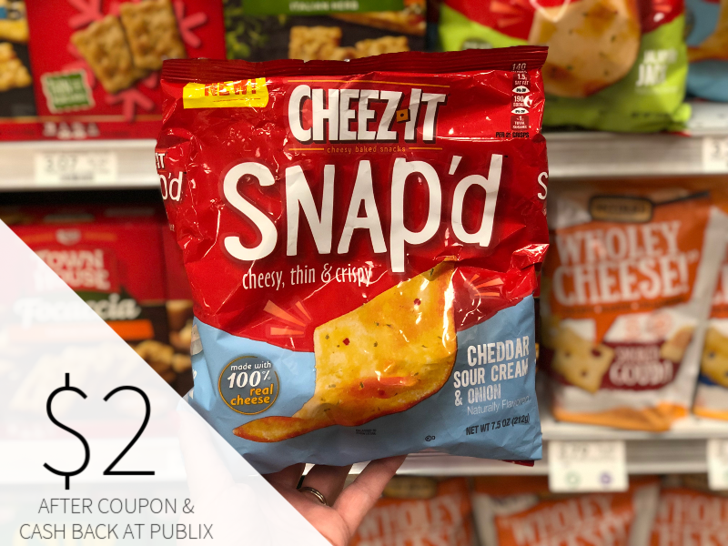 Cheez-It Snap'd Only $2 At Publix on I Heart Publix 1