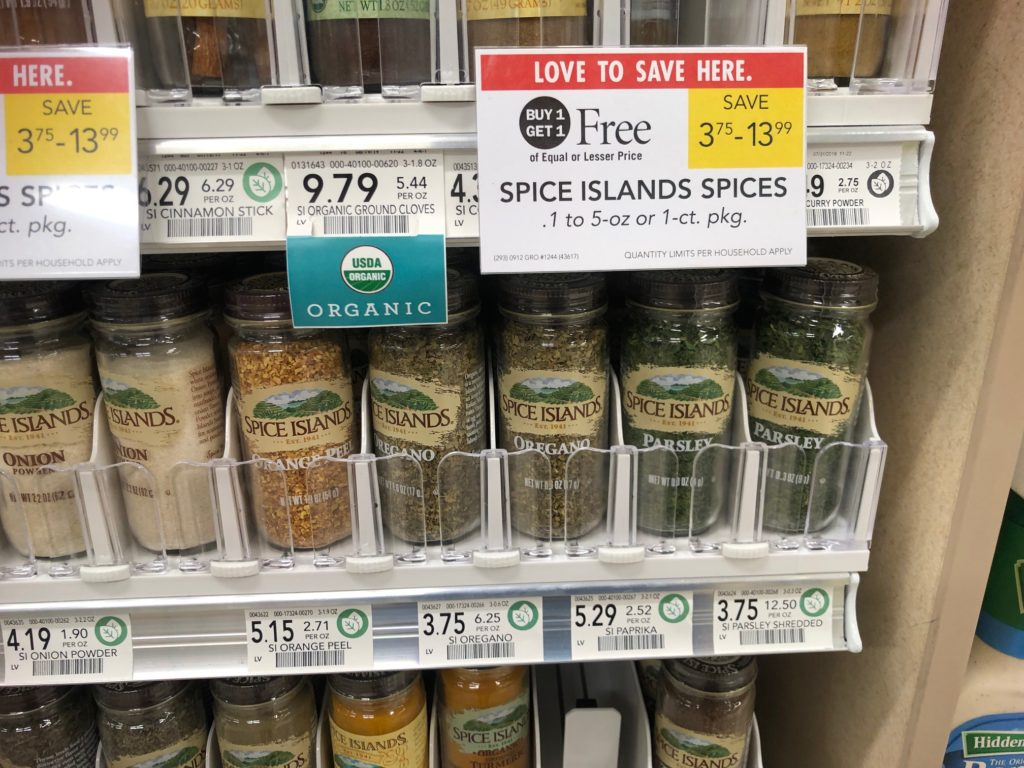 Spice Islands Spice Just $ on I Heart Publix