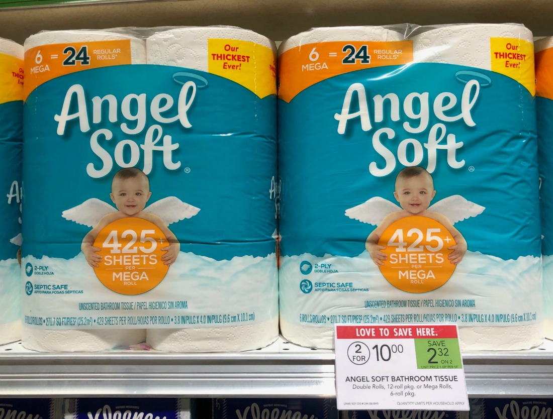 Angel Soft Bathroom Tissue As Low As $4 At Publix on I Heart Publix 1