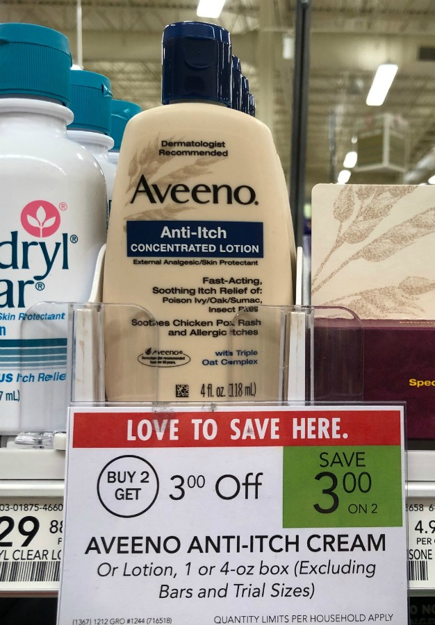 Great Deal On Aveeno Anti-Itch Concentrated Lotion At Publix on I Heart Publix