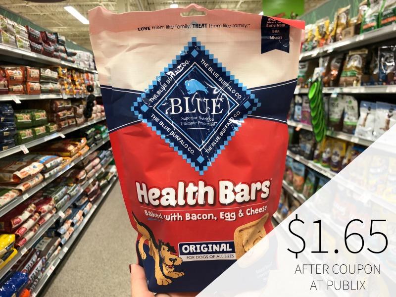 Blue Buffalo Health Bars Just 65¢ At Publix on I Heart Publix 3