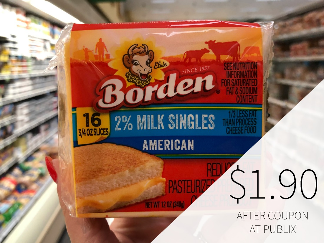 Borden Cheese Singles Just $1.90 Per Pack At Publix on I Heart Publix 1