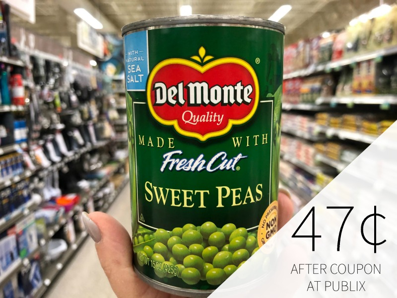 Del Monte Vegetables Only 47¢ At Publix on I Heart Publix 2