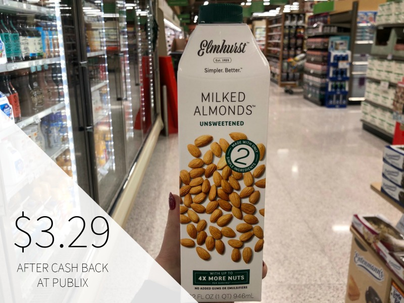 New Elmhurst Plant Based Milk Ibotta For Publix Sale on I Heart Publix