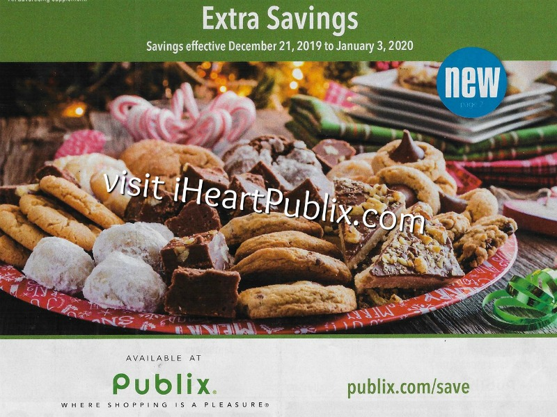 """Publix Grocery Advantage Buy Flyer – """"Extra Savings"""" Valid 12/21 to 1/3 on I Heart Publix"""