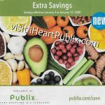 "Publix Grocery Advantage Buy Flyer – ""Extra Savings"" Valid 1/4 to 1/17 on I Heart Publix"