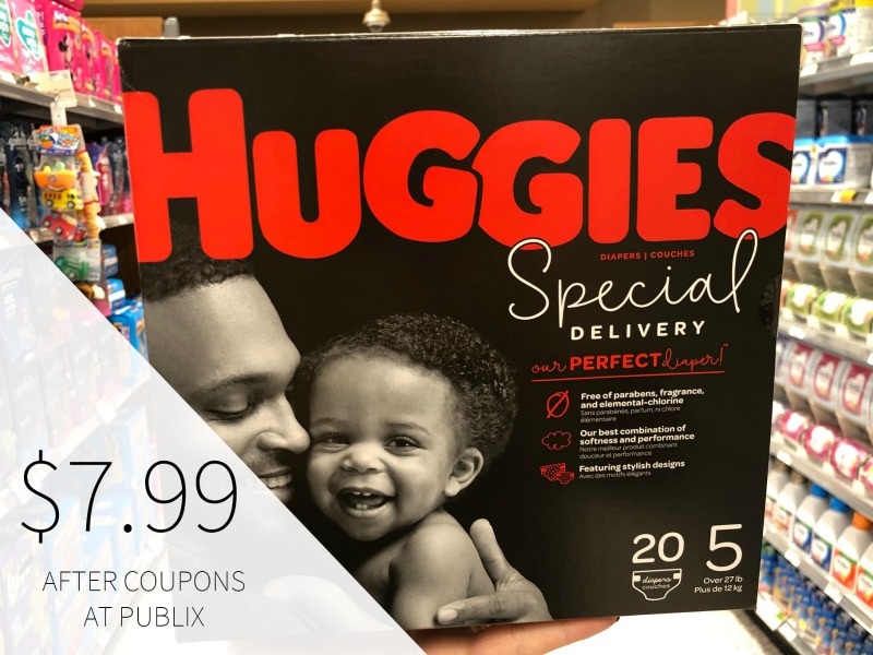 New Huggies Special Delivery Diapers Coupon + Publix Coupon on I Heart Publix 1